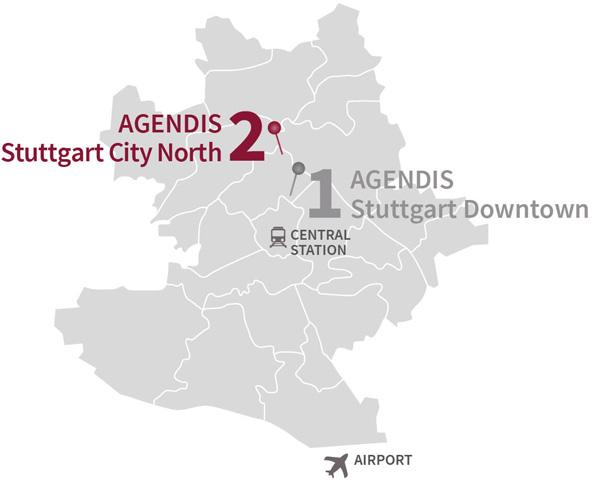 Business Center Stuttgart North Agendis BC Stuttgart
